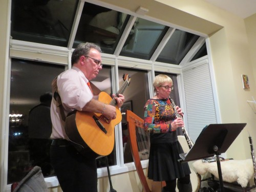 House Concerts are parties for friends celebrating making music and we're hired as guides!