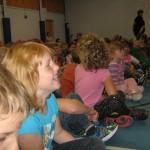 Students at Belleisle ES, Springfield, NB